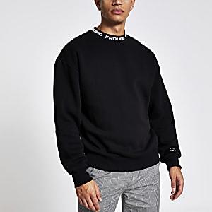 Prolific - Zwart sweatshirt met rechte pasvorm