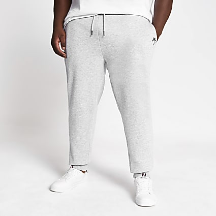 Big and Tall grey Maison Riviera joggers