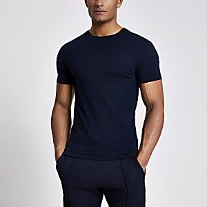 Set van 5 aansluitende T-shirts in verschillende kleuren