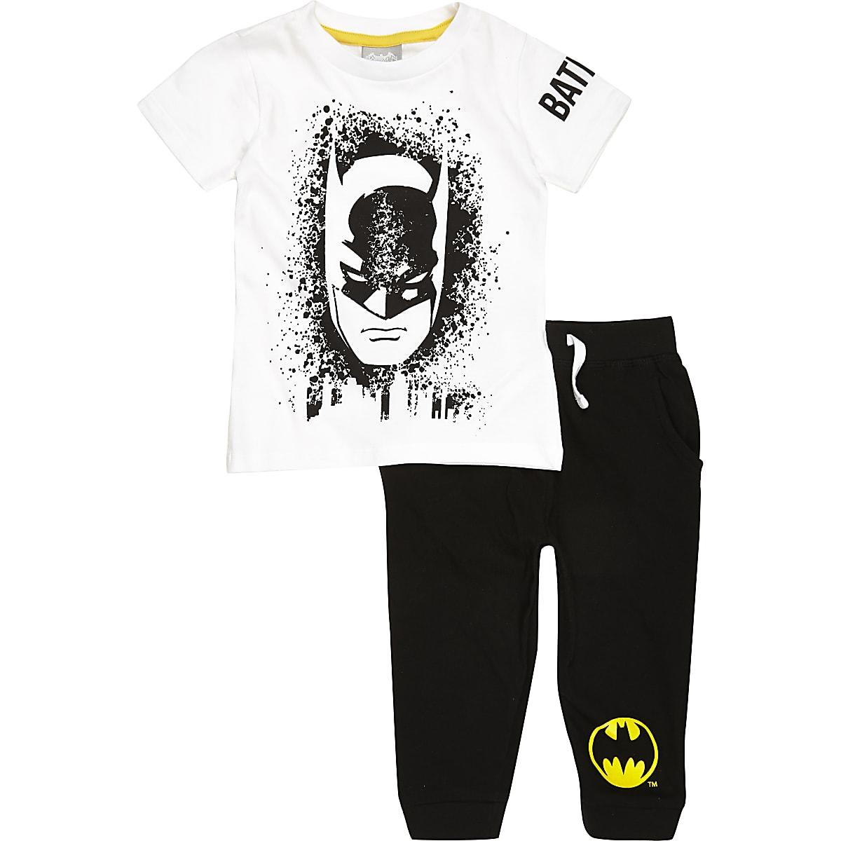 57d3745ae9abc Mini boys black Batman pyjama set - Baby Boys Pyjamas - Mini Boys - boys