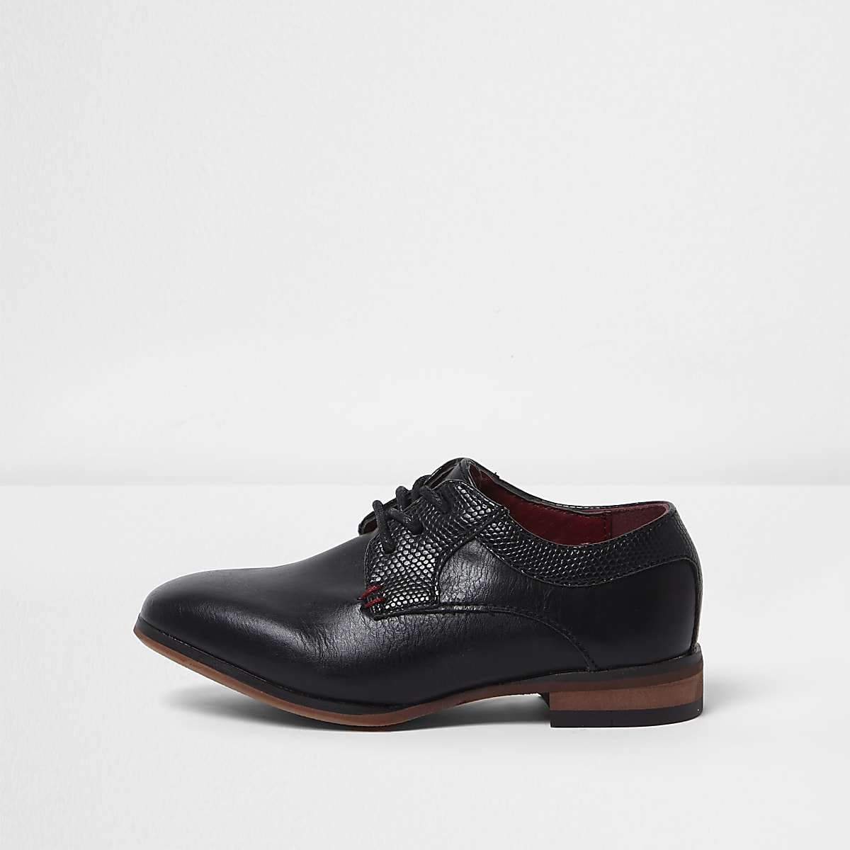 45677f2c86647 Mini boys black pointed brogue shoes - Baby Boys Shoes - Baby Boys Shoes    Boots - Mini Boys - boys