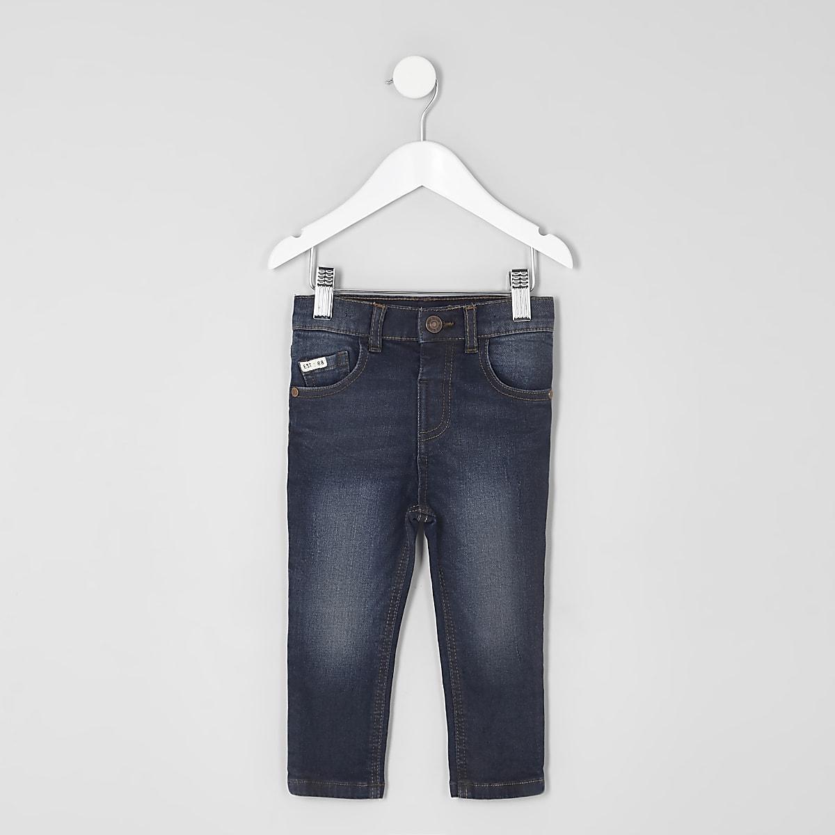 Sid – Jean skinny bleu foncé mini garçon