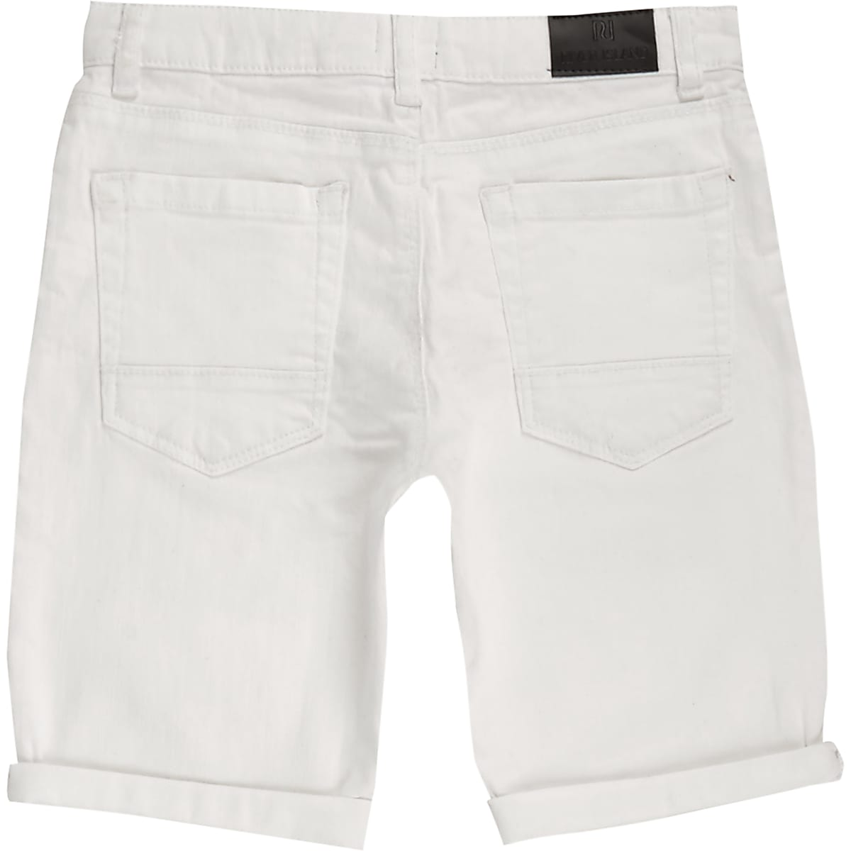 85c2a53f64 Boys white ripped denim shorts - Denim Shorts - Shorts - boys