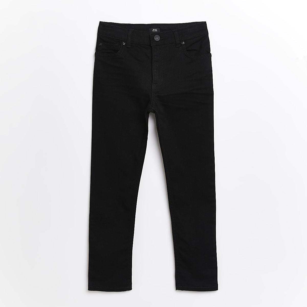 Boys black skinny Sid jeans