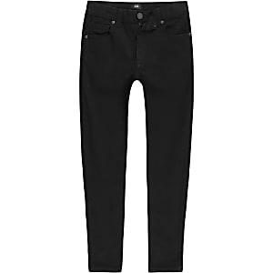 Danny - Zwarte superskinny jeans voor jongens