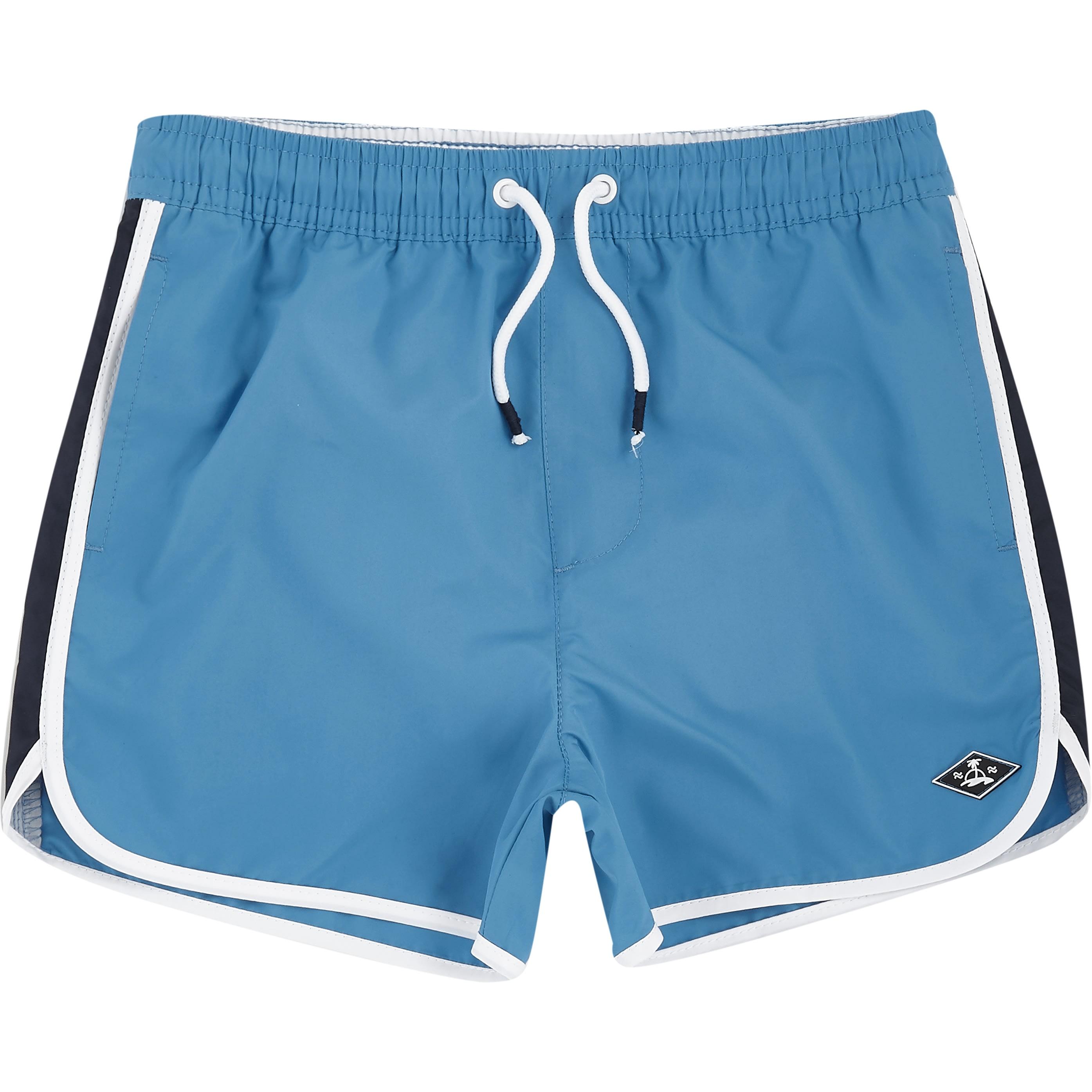 River Island - mens river island   runner swim shorts - 1