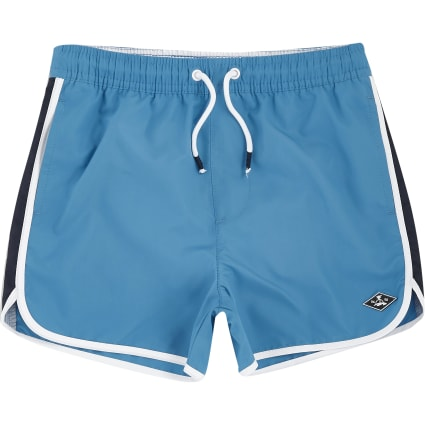 Boys blue runner swim shorts