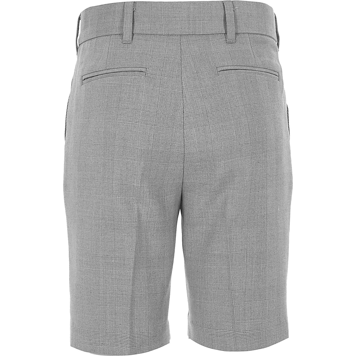 0d4fa4cde Boys grey check suit shorts - Chino Shorts - Shorts - boys