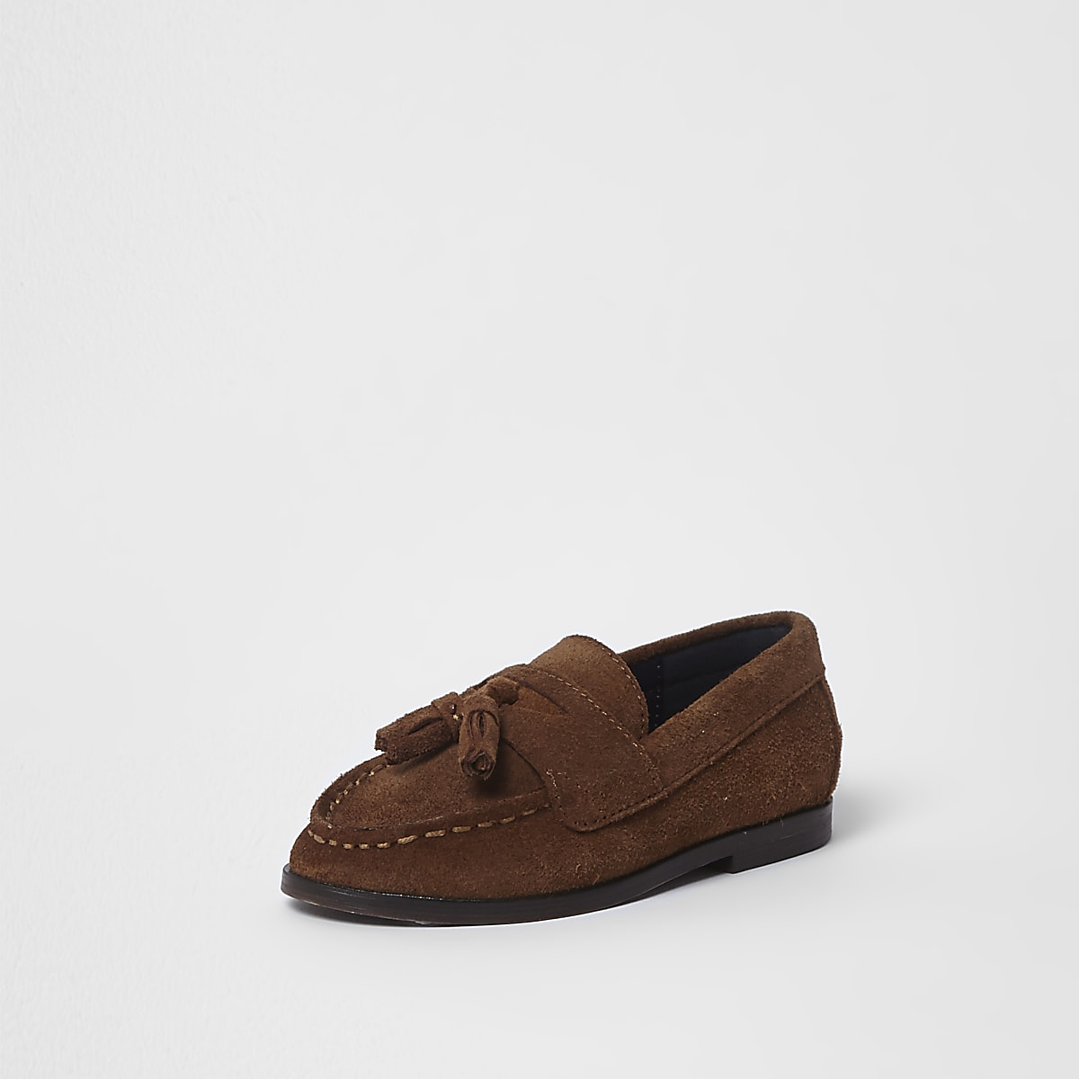 8cc98102a3a Mini boys brown tassel loafers - Baby Boys Shoes - Baby Boys Shoes ...