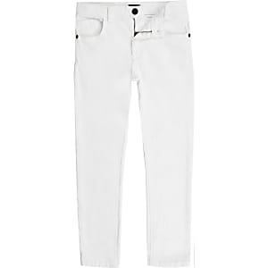 Sid – Jean skinny blanc pour garçon