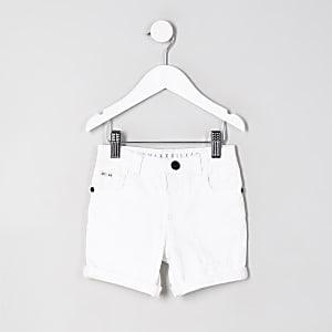 Dylan – Weiße Jeansshorts
