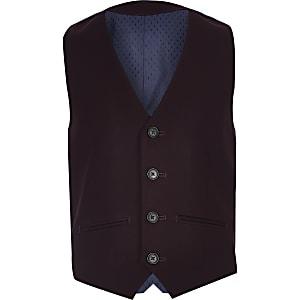 Lilafarbener Anzug-Mantel für Jungen