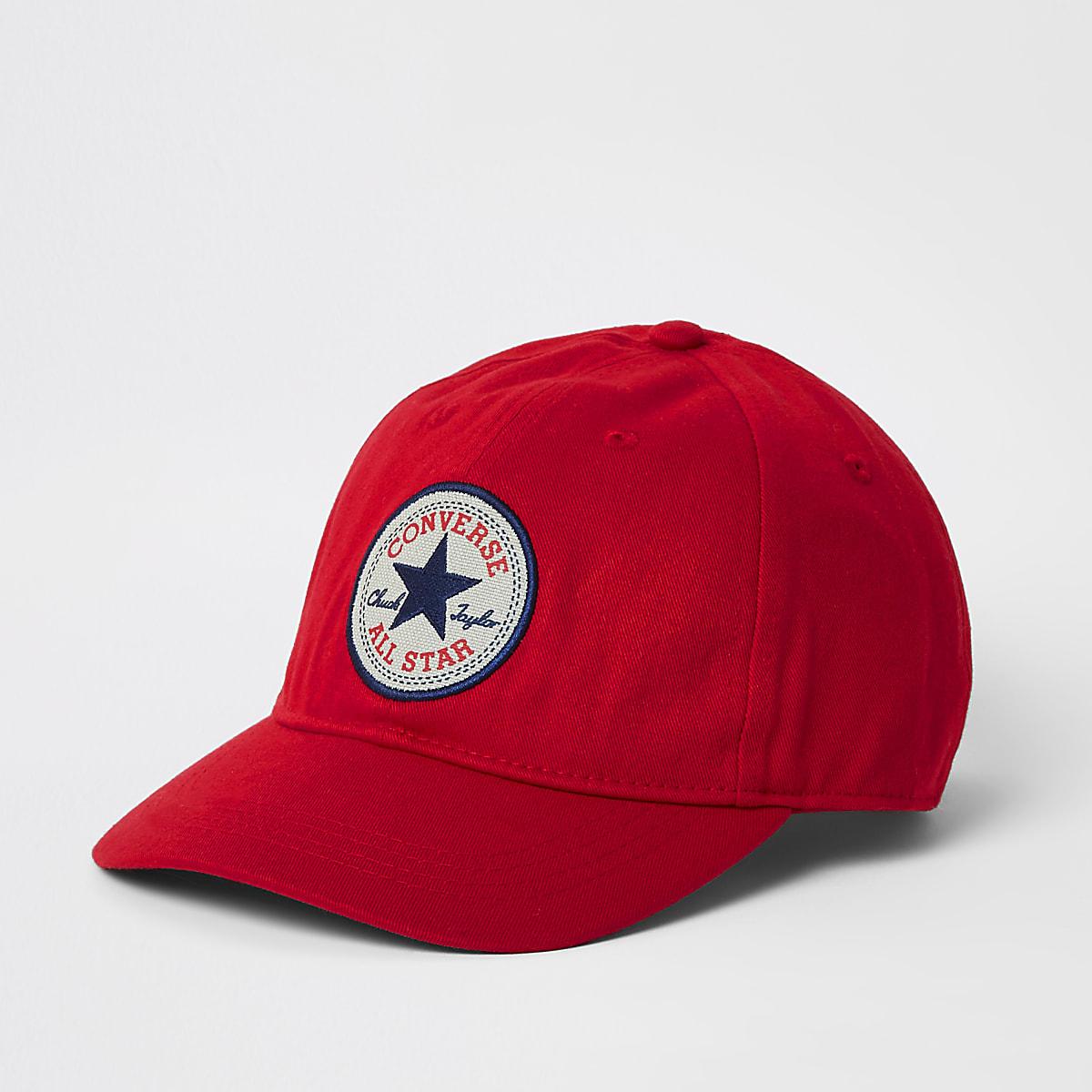 Kids red Converse cap