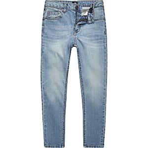 Sid - Lichtblauwe skinny jeans voor jongens
