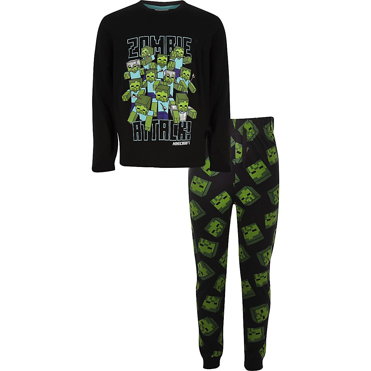 vente en magasin 2019 authentique aspect esthétique Boys Minecraft printed pyjama outfit