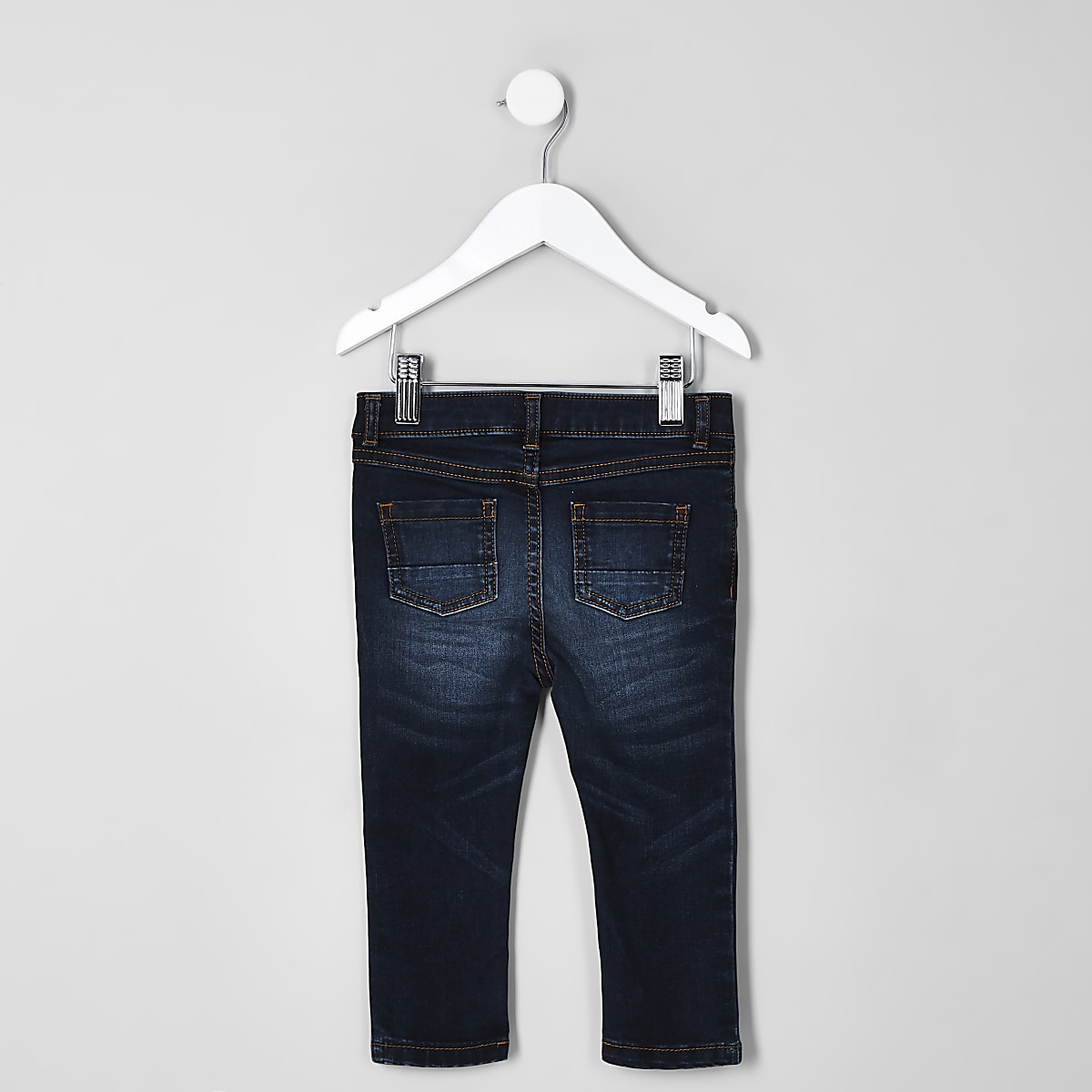4b202c44e94 Mini boys dark blue Sid skinny jeans - Baby Boys Jeans - Mini Boys - boys