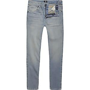 Danny – Hellblaue Super Skinny Jeans