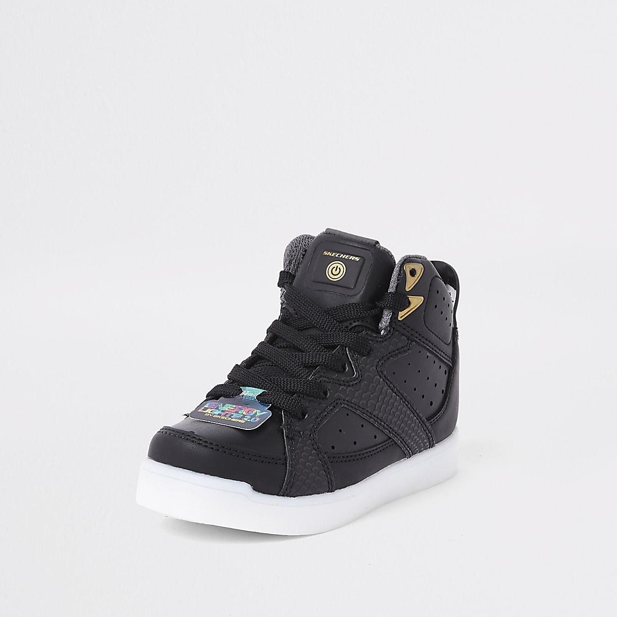fdcc89d97 Black Skechers black light up trainers - Trainers - Footwear - boys