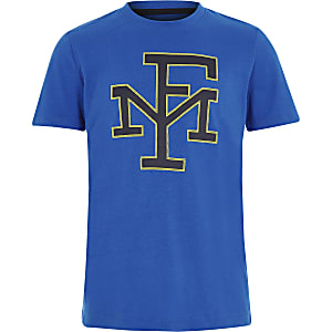 Franklin & Marshall – Blaues T-Shirt