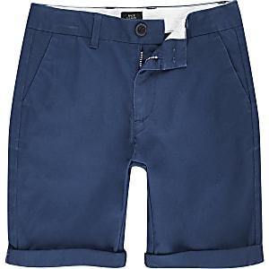 Dylan – Short chino bleu pour garçon