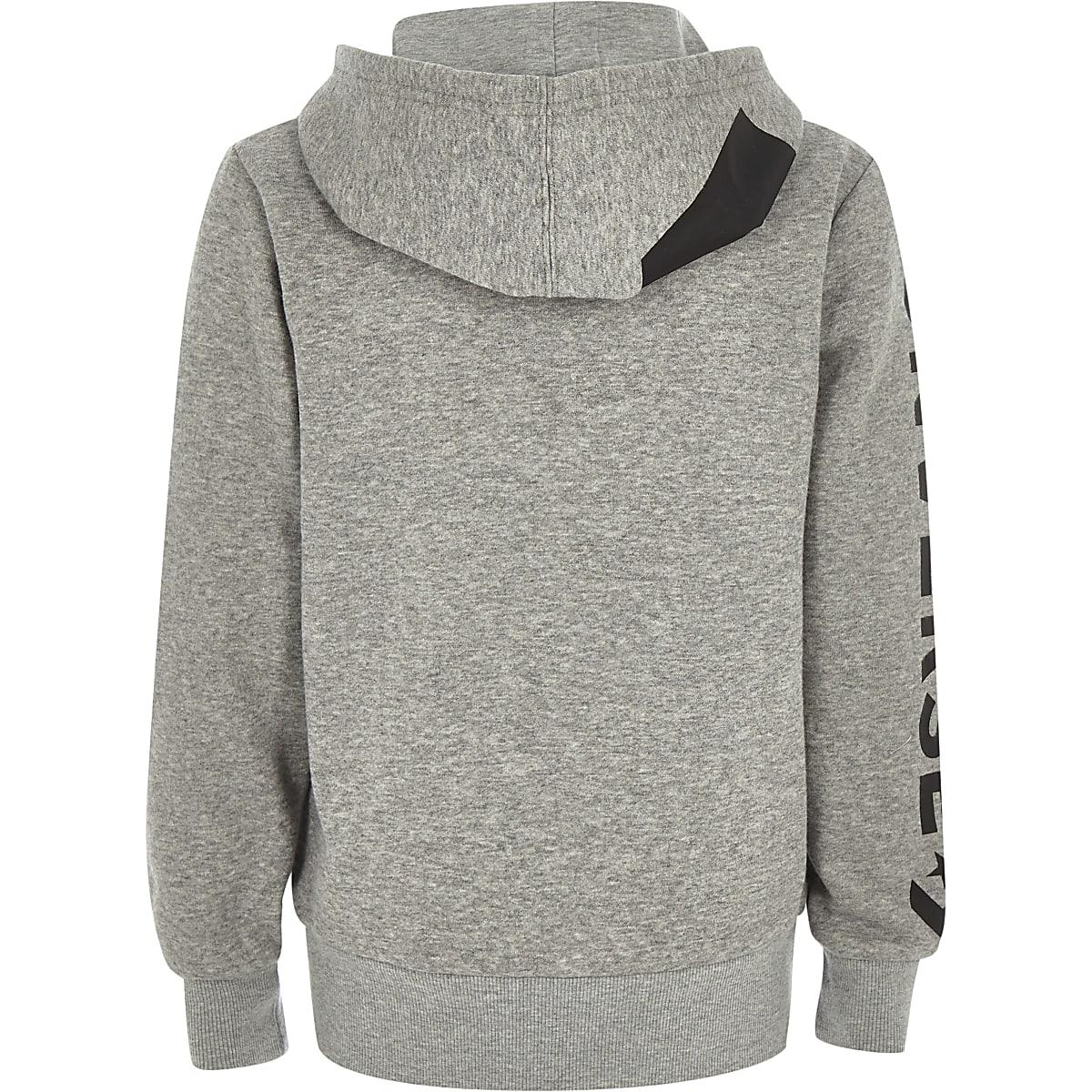 0963c43cddb3 Boys Converse grey zip up tracksuit hoodie - Hoodies   Sweatshirts ...