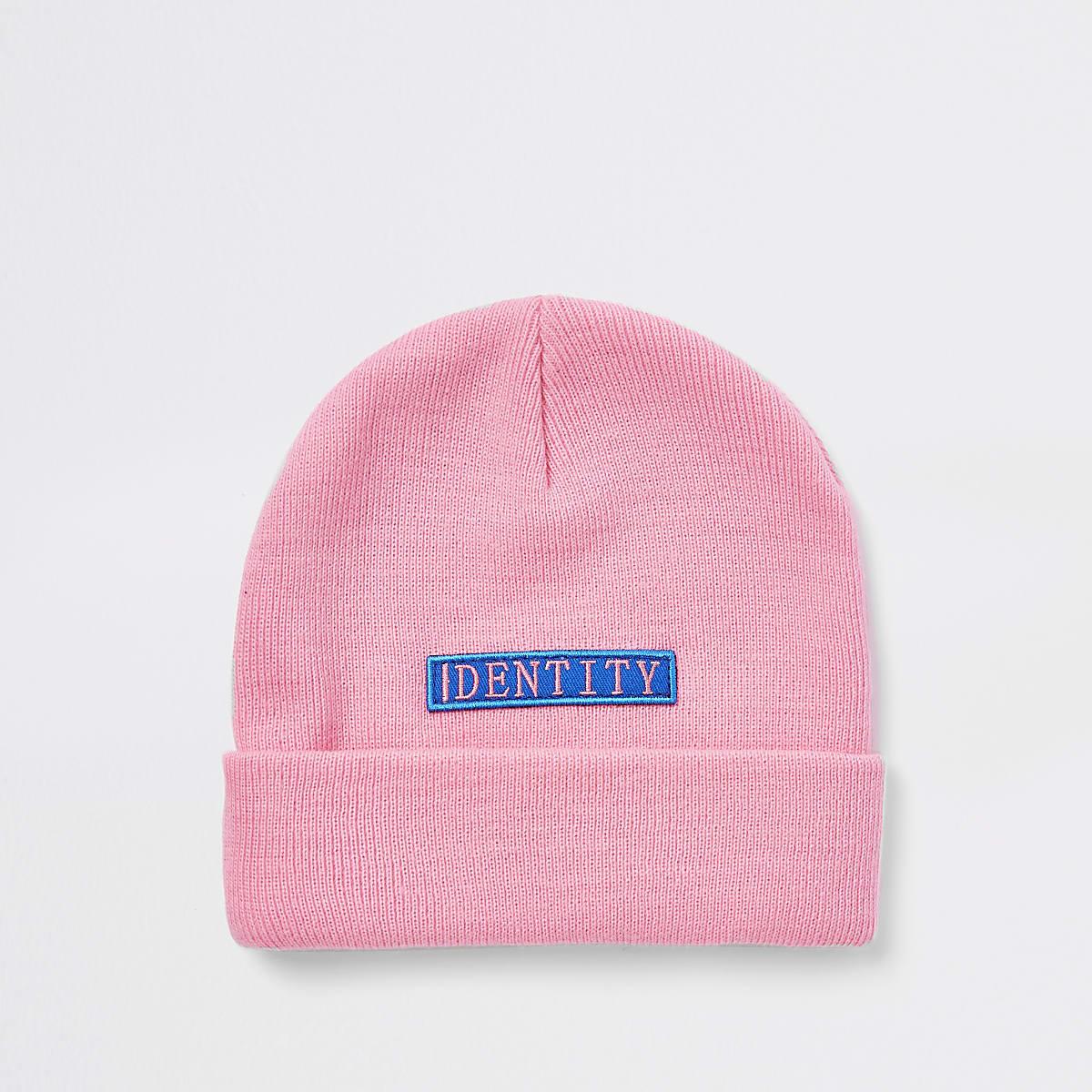 """Be Inclusive – Pinke Beanie """"Identity"""""""