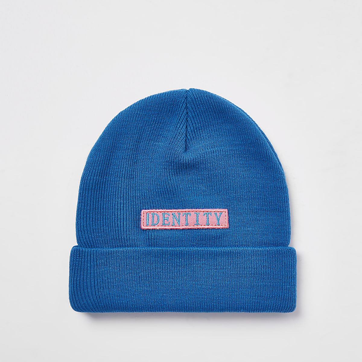Be Inclusive blue 'Identity' beanie hat