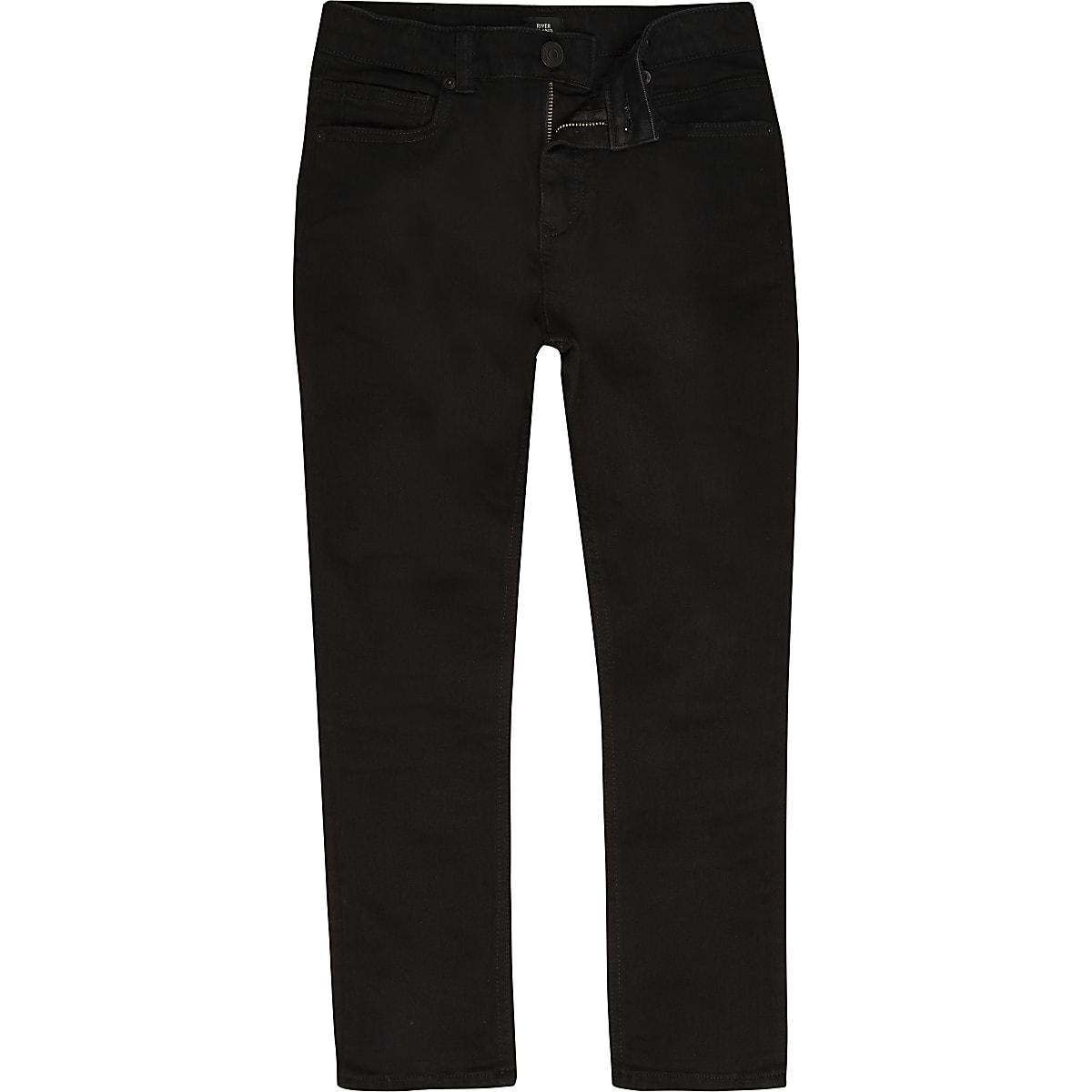 Boys black Dylan slim fit jeans