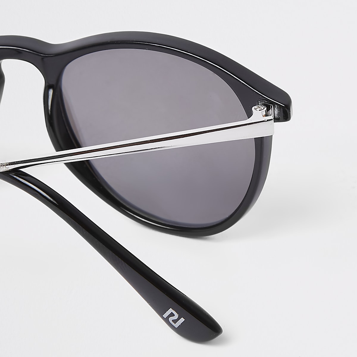 cab8f6c29960 Boys black retro smoke lens retro sunglasses - Sunglasses ...