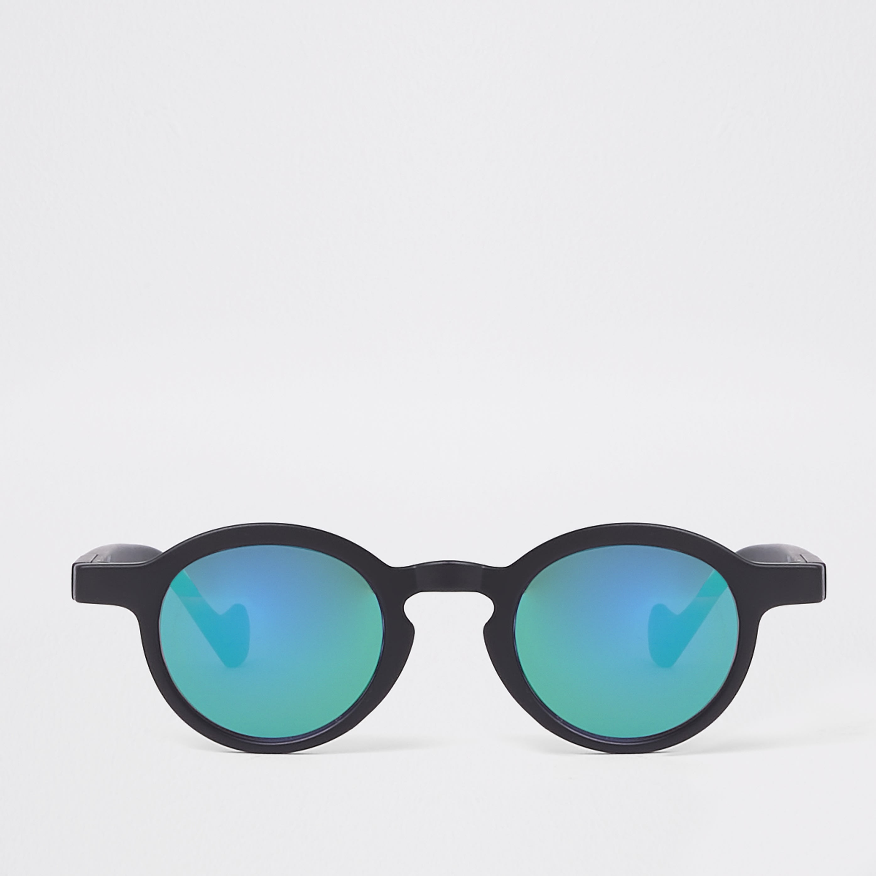 RIVER ISLAND | Mens Mini boys revo lens round sunglasses | Goxip