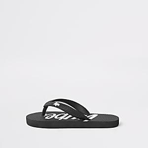Hype – Schwarze Flip-Flops