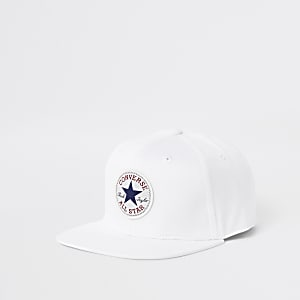Converse – Weiße Baseballkappe