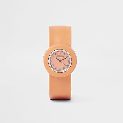 Boys orange pop watch