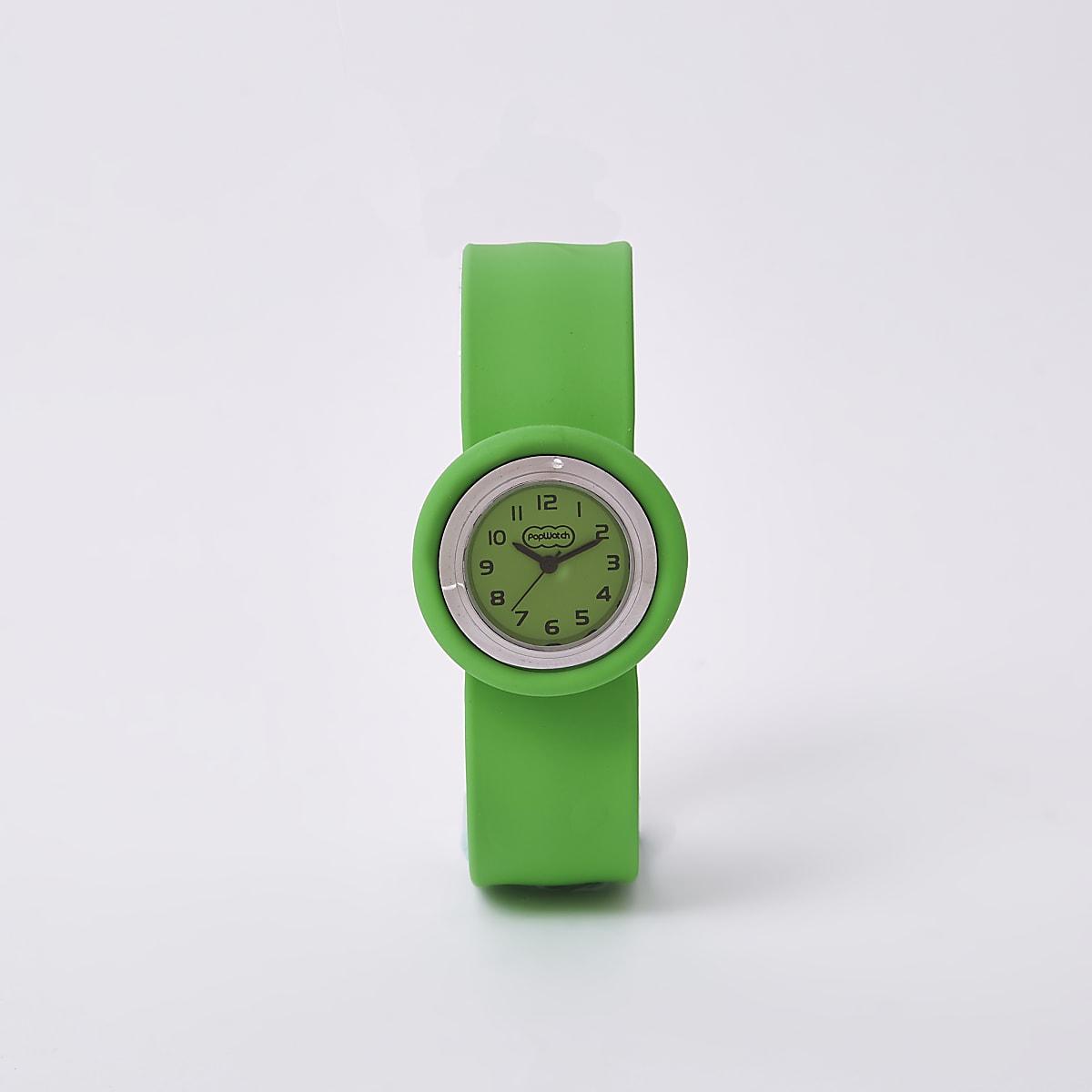 Bright green popwatch