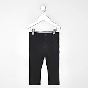 Mini - Zwarte skinny stretchbroek voor jongens