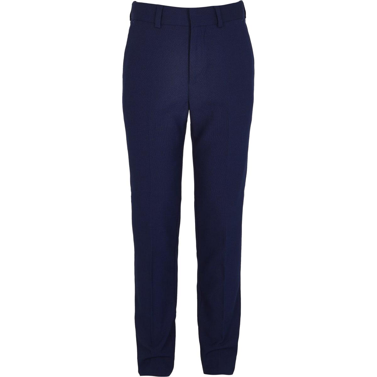 Blauwe pantalon voor jongens