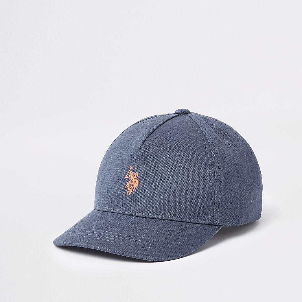 Boys navy U.S. Polo Assn. cap