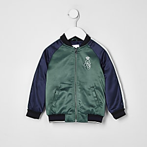 Mini boys navy sport bomber jacket