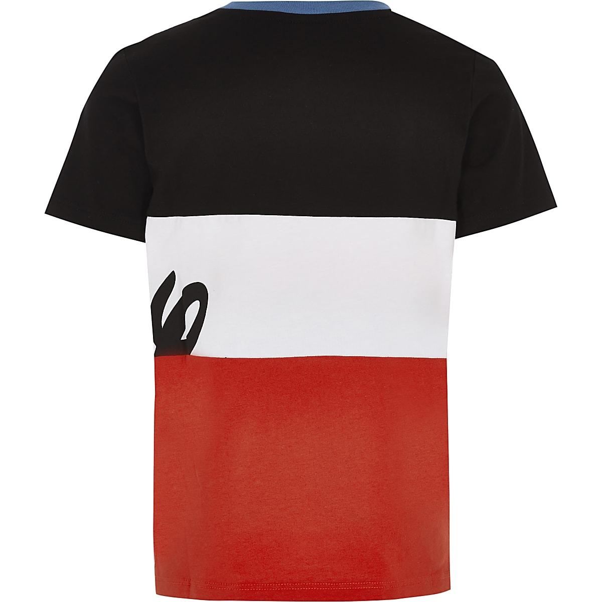 66a08df06 Boys Disney x Hype black colour block T-shirt - T-shirts - T-Shirts ...