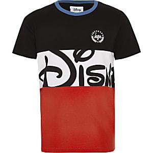 Disney x Hype – T-shirt colour block noir pour garçon