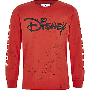 Hype – Disney – Rotes T-Shirt mit Print
