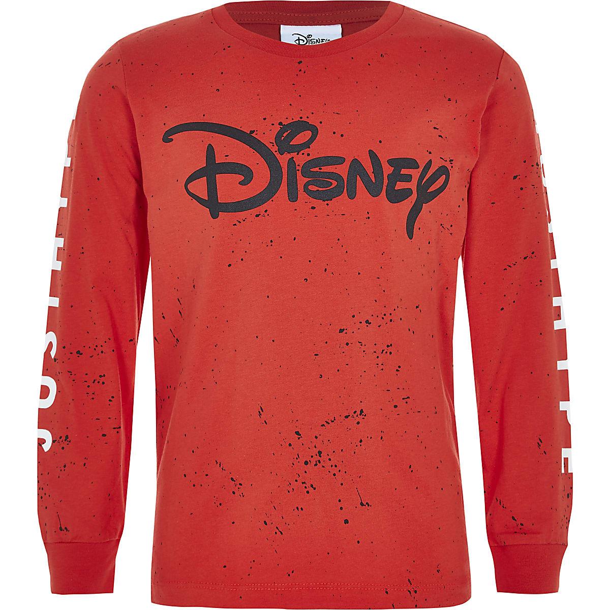 Boys red Hype Disney splatter T-shirt