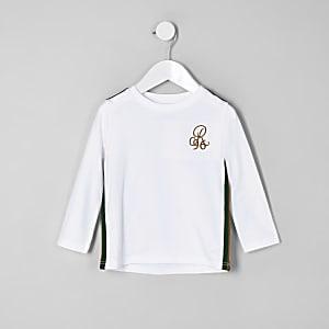 T-shirt « R96 » blanc à manches longues mini garçon