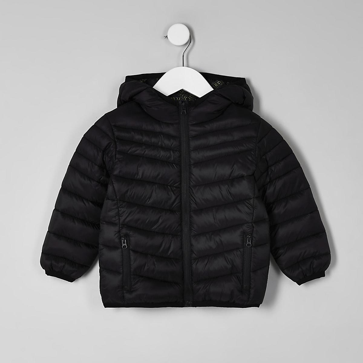 e5c05ce90 Mini boys black puffer jacket - Baby Boys Coats & Jackets - Mini Boys - boys