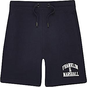 Franklin & Marshall – Short bleu marine pour garçon