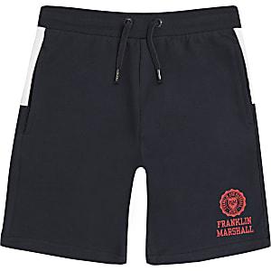 Franklin & Marshall – Shorts in Blockfarben