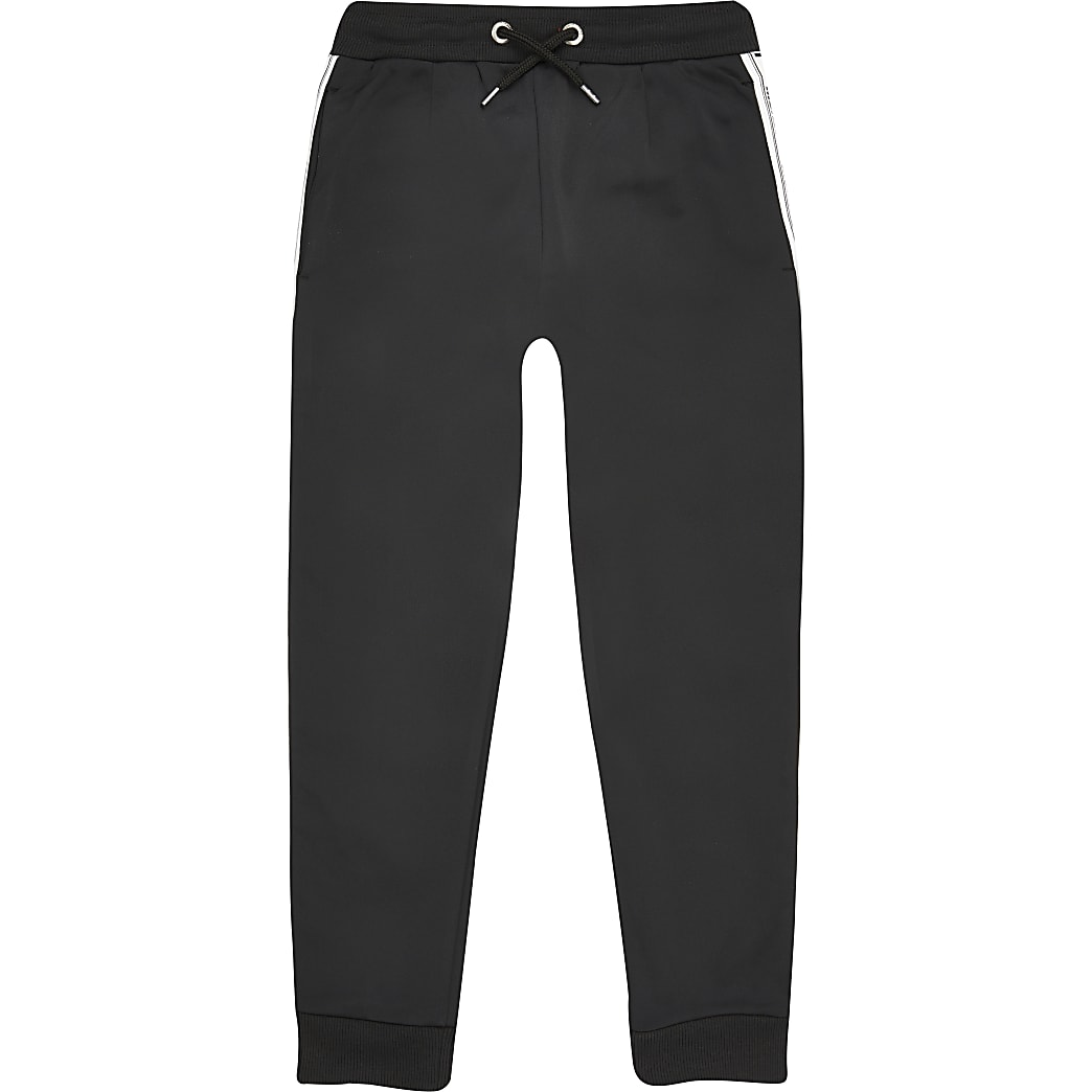 Boys black Money joggers