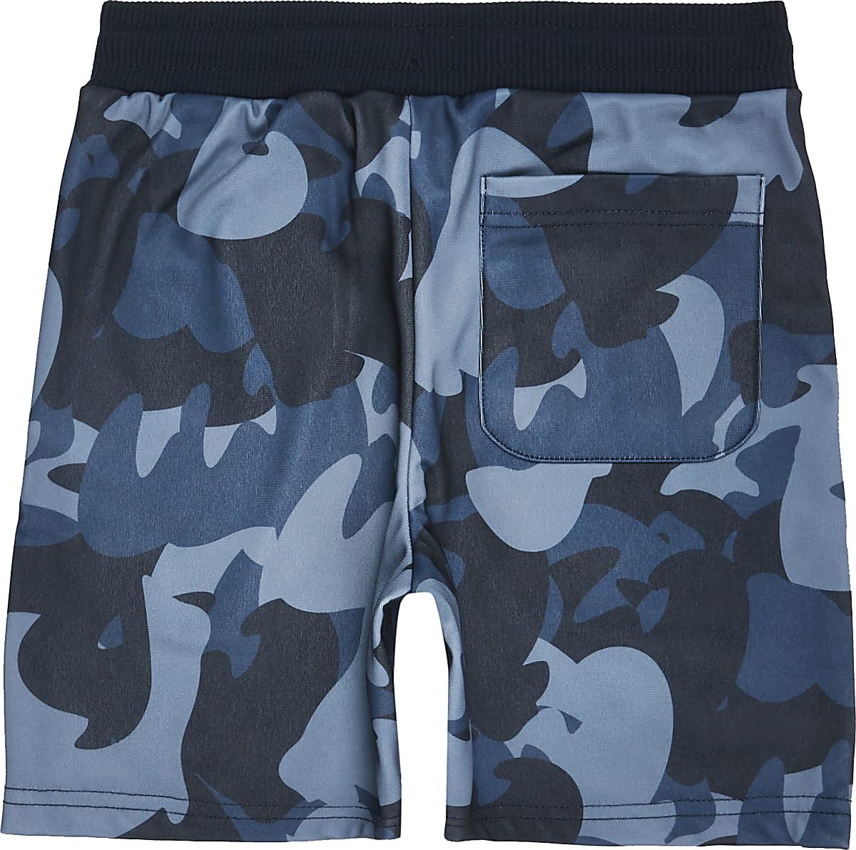 d5b1bdeeae Boys navy camo jersey shorts - Jersey Shorts - Shorts - boys