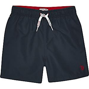 U.S. Polo Assn. - Marineblauwe zwemshort voor jongens