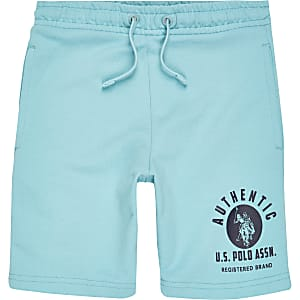 Boys U.S. Polo Assn. blue shorts